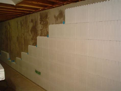 Elegant Basement Concrete Wall Insulation Wrap