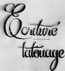Ecriture Tatouage Femme : tatouages phrases et autres home facebook ~ Melissatoandfro.com Idées de Décoration