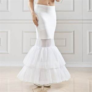 jupon mariage 1 cerceau circ 190 cm pour robe sirene With jupon robe