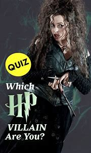 Quiz: Which Harry Potter Villain Are You? | Harry potter ...