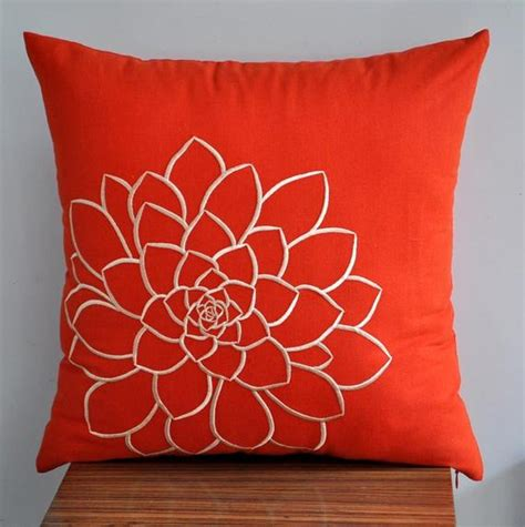 decorative throw pillow covers orange pillow cover decorative pillow cover throw pillow