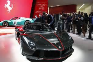 Paris Motor Show Ferrari Laferrari Aperta Sells Out Ahead