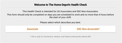 With no health check specified, docker has no way of knowing whether or not the services running within your container are actually up or not. Home Depot Health Check - App And Irresistible Benefits ...