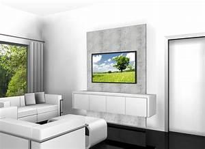 Fernseher An Die Wand Hängen Ohne Halterung : die besten 25 tv kabelkanal ideen auf pinterest ~ Michelbontemps.com Haus und Dekorationen