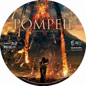 Pompeii - Custom DVD Labels - Pompeii :: DVD Covers