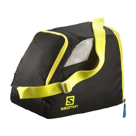 housse chaussure ski nordique salomon ski bag nordic gear bag black ye alpinstore