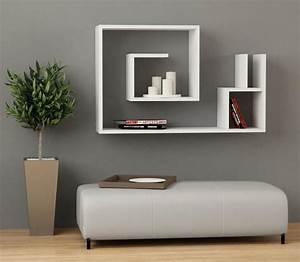 étagères Murales Design : 1001 id es tag res murales 77 mod les qui vont vous accrocher ~ Teatrodelosmanantiales.com Idées de Décoration