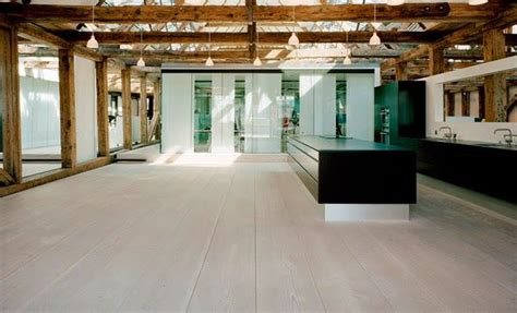 cocinas increibles  suelos de listones de madera