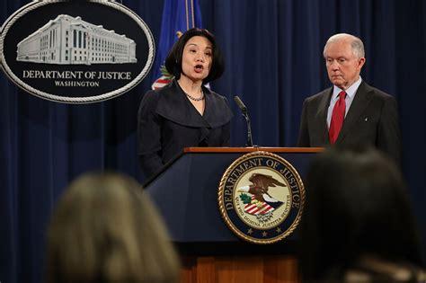 trump picks  attorney  dc    justice job