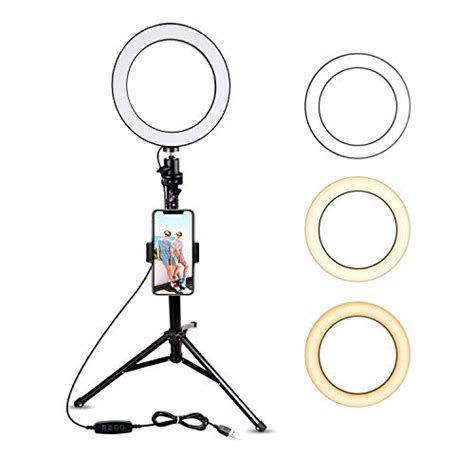 ubeesize  selfie ring light  tripod stand cell