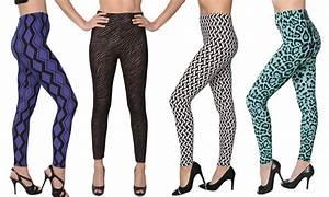 Isadora Womenu0026#39;s Printed Leggings | Groupon Goods