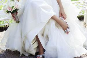 finding the perfect shoes to match your wedding dress With wedding dress with sneakers