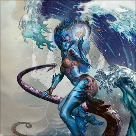 Kiora The Crashing Wave Deck List by Wallpaper Of The Week Kiora The Crashing Wave Magic