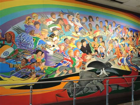Denver Airport Conspiracy Murals by Debunking The Denver Airport Conspiracy Memoir Of A