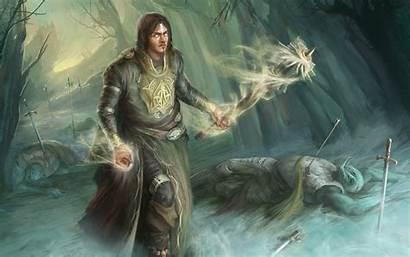 Sorcerer Fantasy Battle Cleric Background 4k Ultra