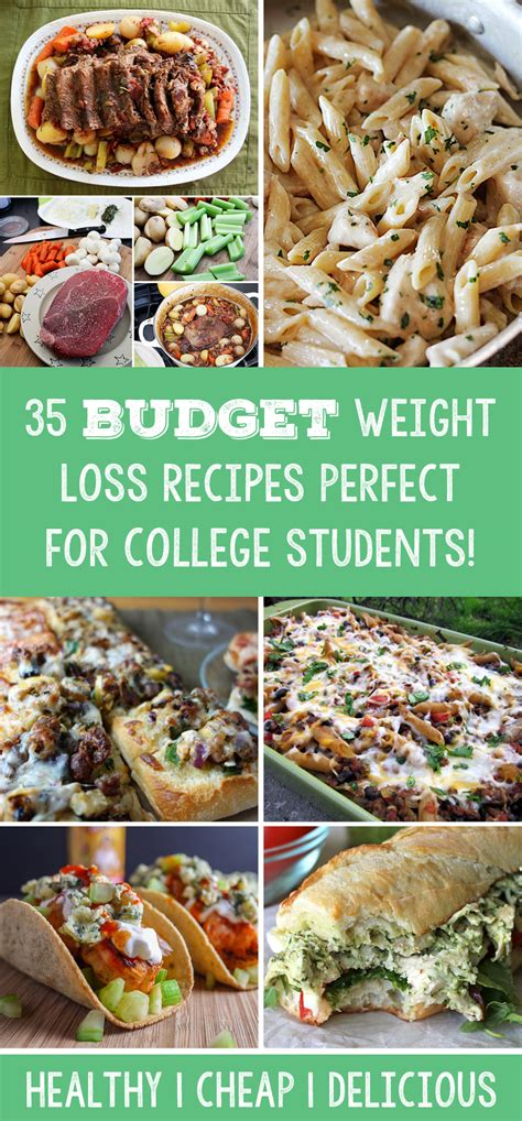 35 Budget Weight Loss Recipes Perfect For College Students
