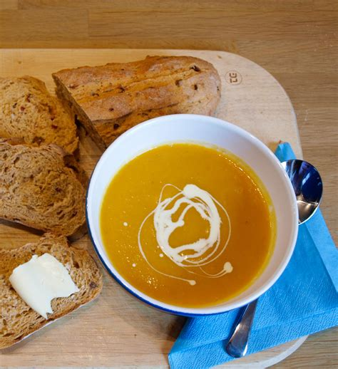 butternut squash and carrot soup carrot ginger and butternut squash soup farmersgirl kitchen