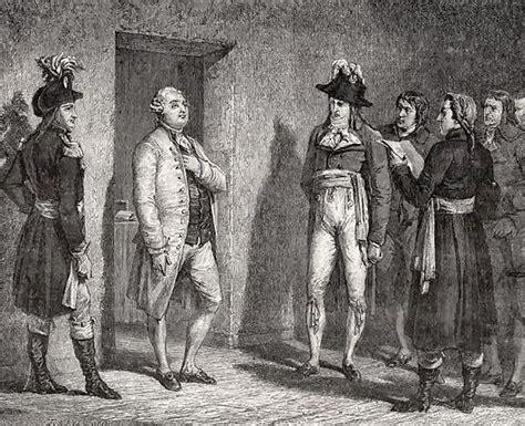 archivo joseph garat 1749 1833 proclaims the arrest of