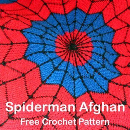 crochet  children spiderman afghan  crochet