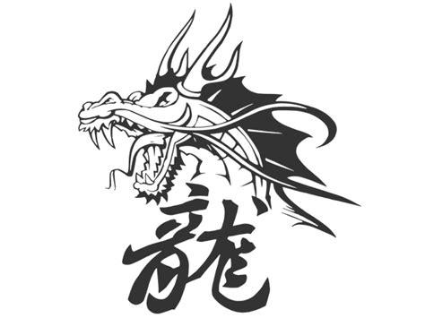Wandtattoo Chinesischer Drache