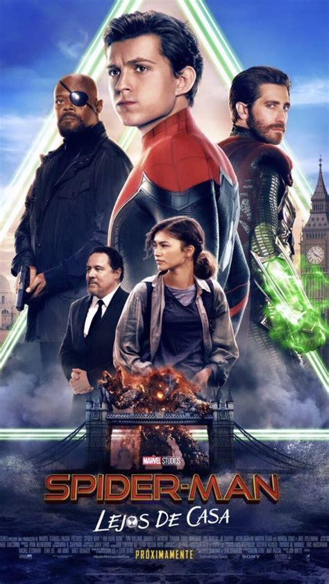 spider man international trailer  poster