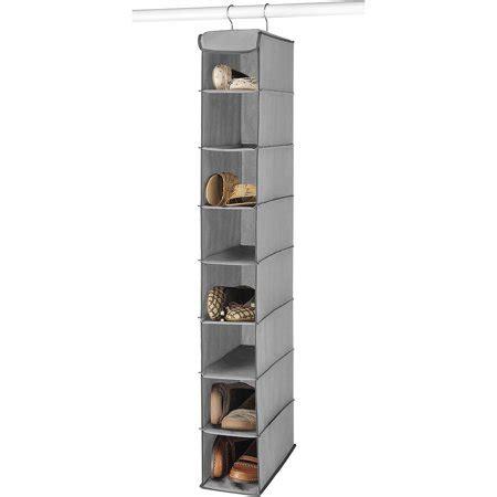 shoe shelf walmart whitmor hanging shoe shelves grey walmart