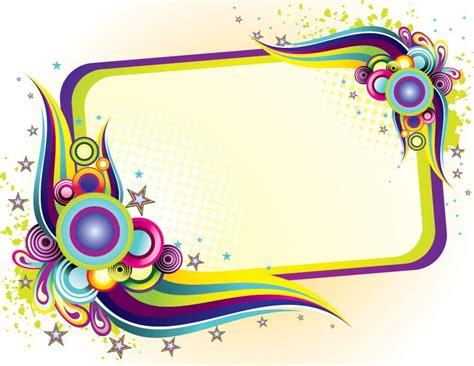 colorful picture frames ppt colorful frame design frames colorful