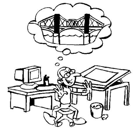 Kleurplaat Kioen architect coloring page coloringcrew