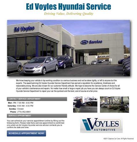 Hyundai Ed Voyles by Ed Voyles Hyundai Service