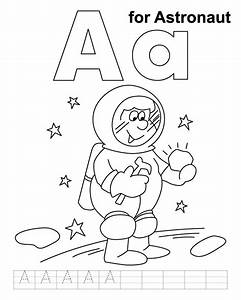 astronaut coloring pages for preschool | ... astronaut ...