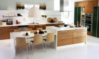 kitchen island table ikea kitchen island with table attached mit leicht skandinavischem charme oben die küche ikea