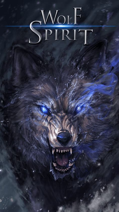 Anime Wolf Wallpaper Android by Wolf Spirit Live Wallpaper Android Live Wallpapers From
