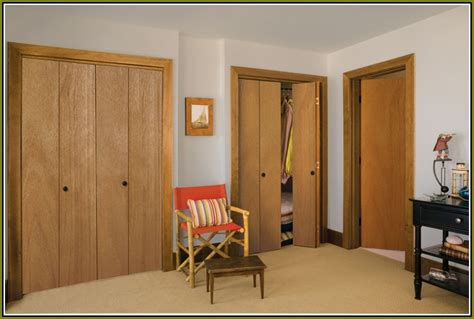 custom bifold closet doors home design ideas
