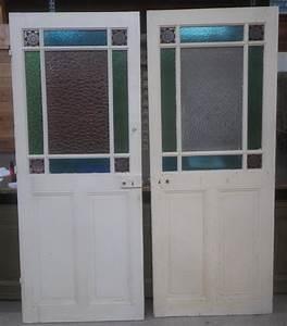 portes vitrees d39interieurs anciennes With porte de garage et porte intérieure ancienne