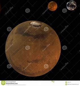 Solar System - Mars Stock Photography - Image: 4420172