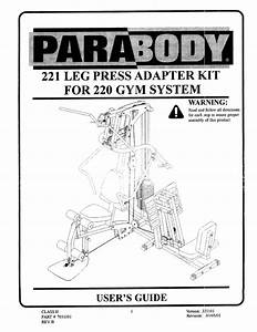 Parabody Home Gym 221 User Guide