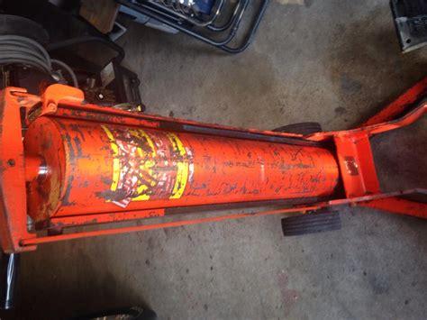 hein werner floor jack oil fill 28 images 3 ton
