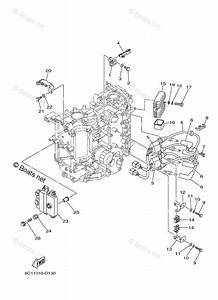 Yamaha Outboard Parts By Hp 50hp Oem Parts Diagram For