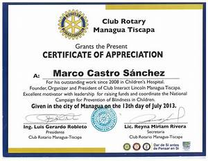 certificate of appreciation rotary images certificate With rotary certificate of appreciation template
