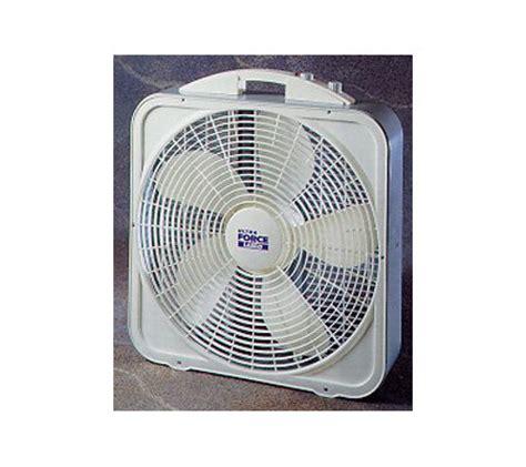 lasko 20 box fan lasko 3700 20 quot ultra force box fan w thermostat qvc com