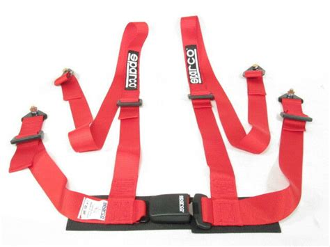 sparco racing seat belt safety harness tuner 2
