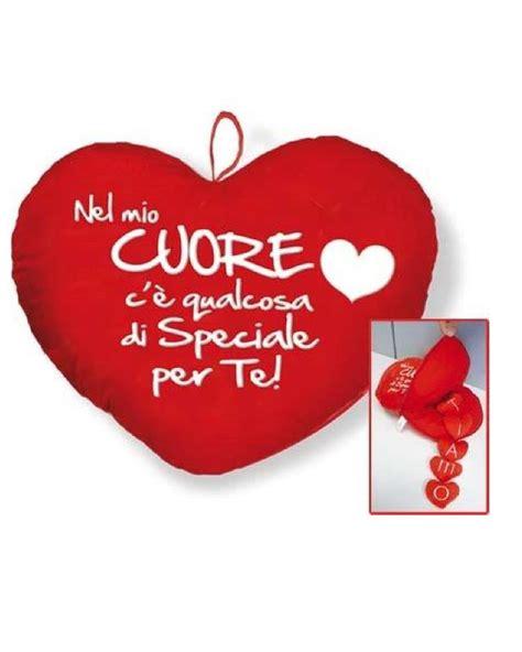 Cuscino Con Foto E Scritta Cuscino Cuore Ti Amo Con Scritta Idea Regalo San Valentino