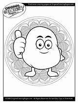 Coloring Pages Potato Potatoes Quiz sketch template