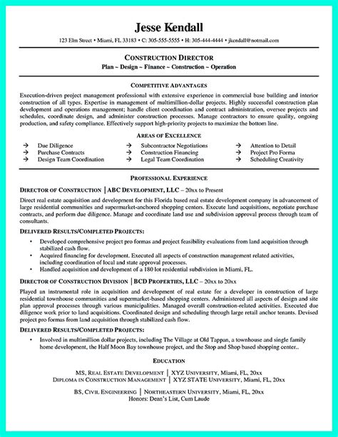 Construction Resume Exles construction worker resume exle to get you noticed