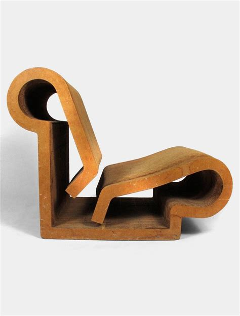 frank gehry quot easy edges quot contour chair for sale at 1stdibs