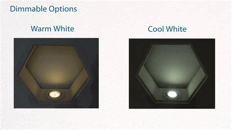 gu  led bulbs demo  warm white  cool white led youtube