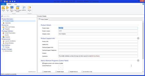 Create A Simple Windows Installer Package