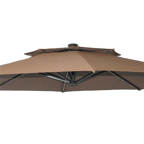 Better Homes And Gardens Offset Patio Umbrella by Bhg Solar Offset 11ft Umbrella Replacement Canopy Garden Winds