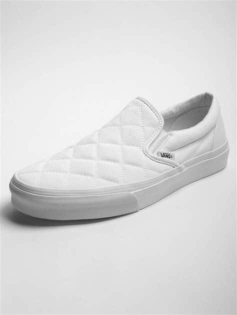 Vans Classic White vans classic white slip on freshness mag