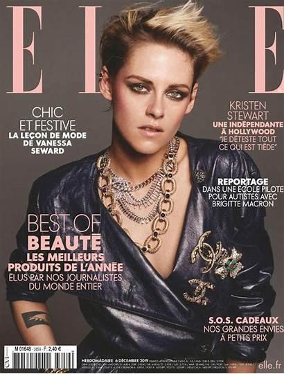 Elle Kristen Stewart Magazine France December Issue